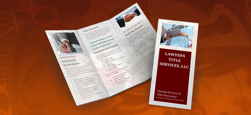 Commercial Insurance Brokers >> Lawyers Title Services Brochure - Lawyers Title Services, LLC